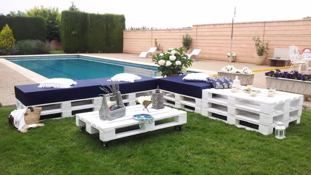 Europalet homologado color blanco - Chill out jardin ...