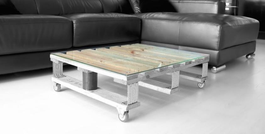 Cristal vidrio templado para mesa palet 80 x 60 cm - Cristal para mesa ...