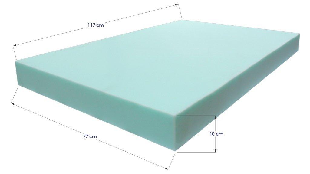 Colchoneta azul europalet para palets 120 x 80 for Espuma a medida para palets