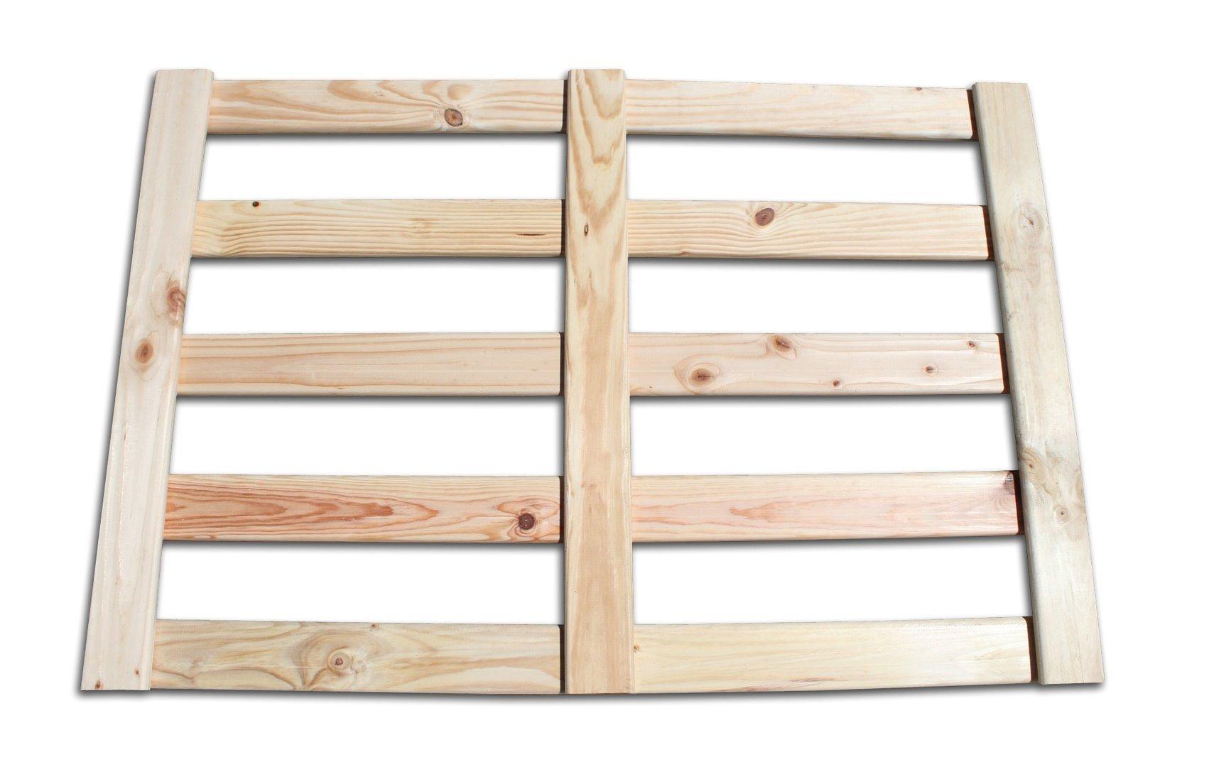 Cabecero de cama de madera cepillada - Cabeceros de cama de madera ...