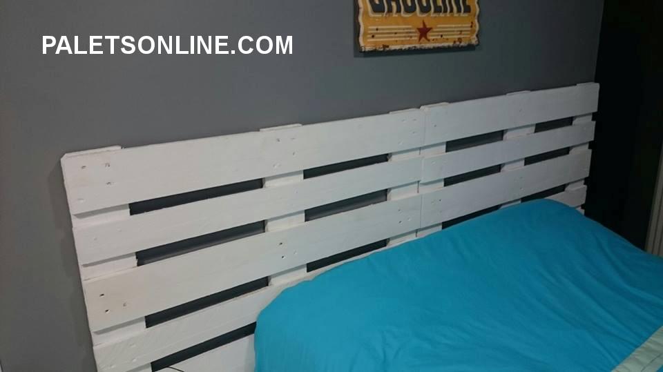 Camas de palet camas con palets with camas de palet cabeceros de cama con palets geniales with Cabeceros de cama con palets