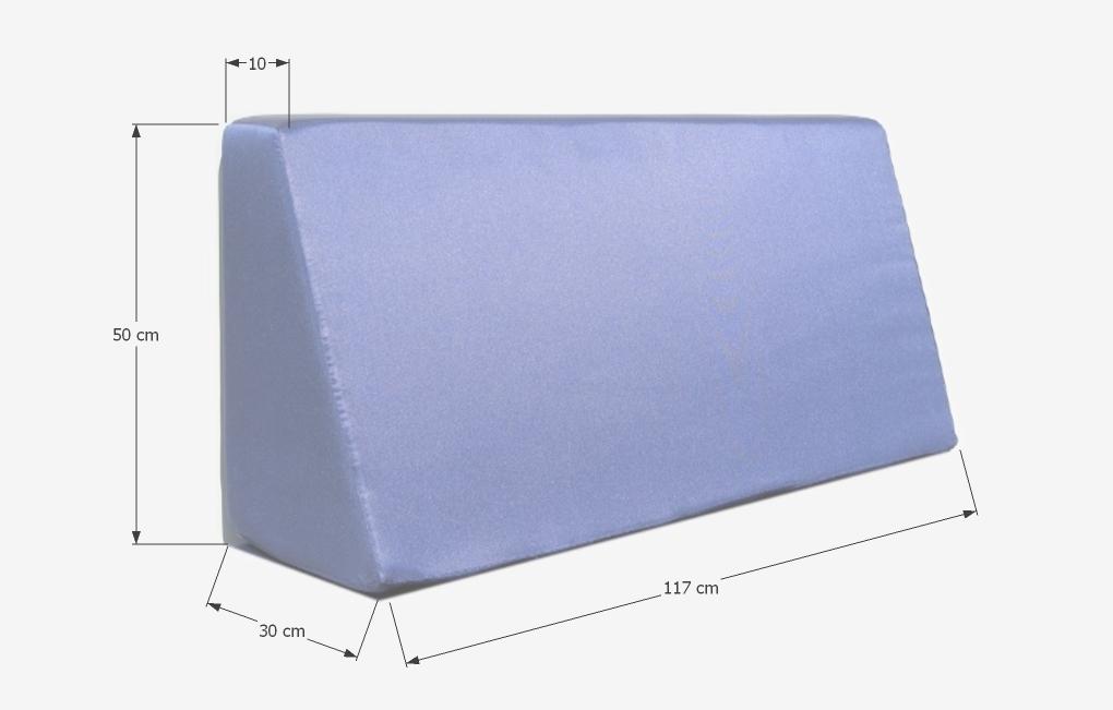 Respaldo de espuma europalet para palets 120 x 80 funda - Espuma para sofa de palets ...