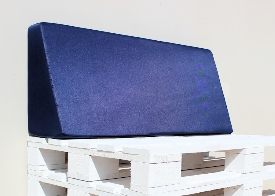 Respaldo De Espuma Europalet Para Palets 120 X 80 Funda Azul 50 Cm