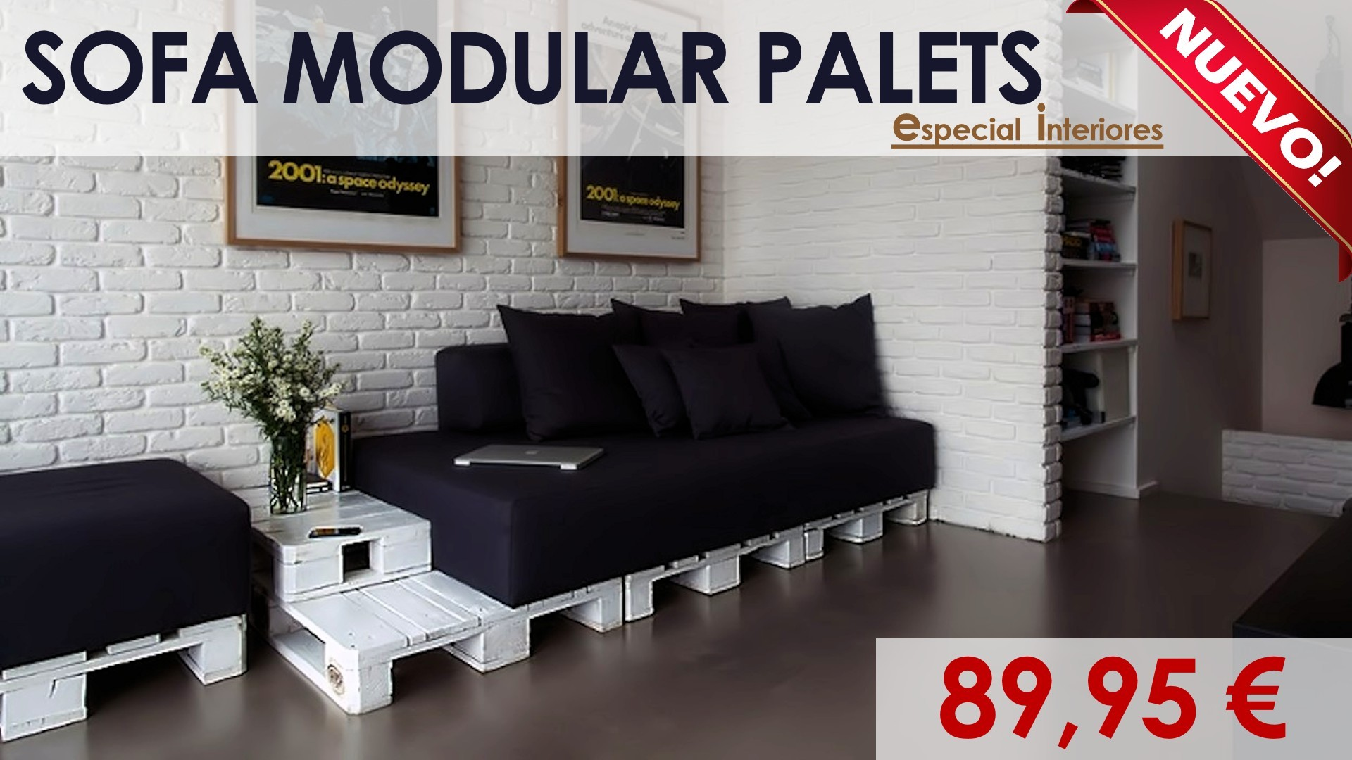 Muebles con palets - Como hacer sofas de palets ...